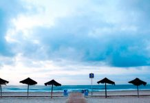 Visita la playa del Gurugu en Castellon