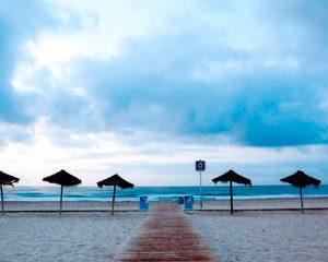 Playa del Gurugú en Castellón