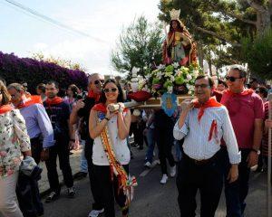 Fiesta en honor a Santa Quiteria de Almazora