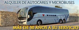 Alquiler de autocares y microbuses